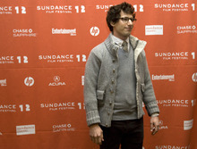 Kim Raff  The Salt Lake Tribune Actor Andy Samberg on the red carpet before the premiere of