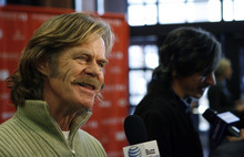 Francisco Kjolseth  |  The Salt Lake Tribune William H. Macy, left, and John Hawkes attend the screening of the movie