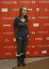 Francisco Kjolseth  |  The Salt Lake Tribune Helen Hunt attends the screening of the movie