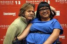 Francisco Kjolseth  |  The Salt Lake Tribune William H. Macy and Jennifer Kumiyama attend the screening of the movie