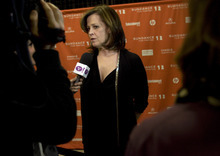 Kim Raff |The Salt Lake Tribune Actress Sigourney Weaver gives interviews on the red carpet before the premiere of