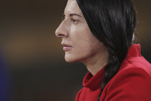 Performance artist Marina Abramovic, whose life and work are chronicled in Matthew Akers' documentary
