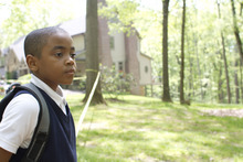 Michael Rainey Jr. plays Woody, who learns some harsh lessons about the world in the drama