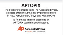 The best photographs from The Associated Press are selected throughout the day by picture editors in New York, London, Tokyo and Mexico City. To find these images, please do an APTOPIX search in your systems. The AP