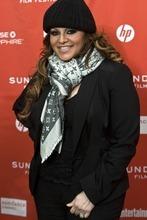Chris Detrick  |  The Salt Lake Tribune Jenni Rivera poses for pictures before the premiere of