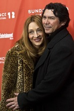 Chris Detrick  |  The Salt Lake Tribune Lou Diamond Phillips and his wife Yvonne Marie Boismier pose for pictures before the premiere of