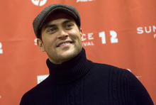 Kim Raff |The Salt Lake Tribune Actor Cheyenne Jackson poses on the red carpet before the premiere of