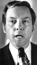 Tribune file photo Sen. Orrin Hatch around 1976.