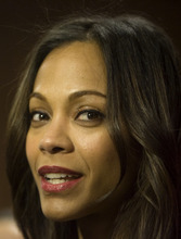 Kim Raff |The Salt Lake Tribune Actress Zoe Saldana gives an interview on the red carpet before the premiere of