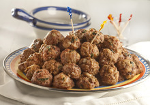 This Greek meatball recipe will be a must for your Super Bowl Sunday. (Bill Hogan/Chicago Tribune/MCT)