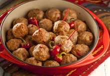 This spicy meatball recipe will be a must for your Super Bowl Sunday. (Bill Hogan/Chicago Tribune/MCT)