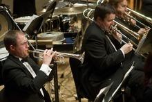 Chris Detrick   The Salt Lake Tribune  The Utah Wind Symphony performs Wednesday, Feb. 1, at the Rose Wagner Center Performing Arts Center.