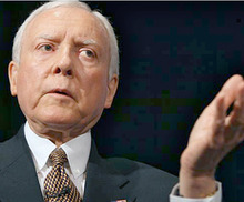 Tribune file photo The tea party group FreedomWorks is sending out an anti-Hatch book to GOP delegates in the group's quest to defeat six-term Sen. Orrin Hatch.