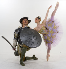 Trent Nelson  |  The Salt Lake Tribune Beau Pearson, left, and Beckanne Sisk are performing in Ballet West's