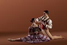 Ballet West's Elizabeth McGrath and Rex Tilton in the Utah premiere of Anna-Marie Holmes'