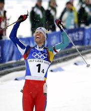 Al Hartmann | Tribune file photo Norway's Ole Einar Bjørndalen won an unprecedented four gold medals in biathlon.