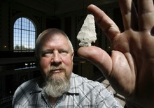 Steve Griffin  |  Tribune File Photo Utah state archaeologist Kevin Jones was laid off from the Utah Department of Community and Culture in June.