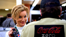 This advertisement provided by PepsiCo Inc, shows a scene from the Pepsi Max cola wars ad that will air during Super Bowl XLVI, Sunday, Feb. 5, 2012. (AP Photo/PepsiCo Co.)