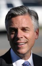 STEVE GRIFFIN  |  The Salt Lake Tribune  Jon Huntsman Jr.