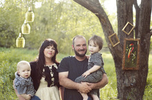 Courtesy photo Ryan and Kelly Pack were driving home on Christmas Eve with their two sons Finn, 3, and Colum, 18 months, when an SUV jumped the median and hit their car in a head-on collision. Ryan, Kelly and Colum were critically injured. On Christmas Day, Colum passed away.