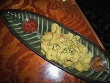 Sri Lankan Kothu at Provo's The Banana Leaf Restaurant. (Courtesy image by Rebecca Pollock)