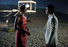 Courtesy photo Emily VanCamp and Josh Bowman star in ABC's
