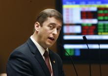 Scott Sommerdorf  |  Tribune  file photo            Sen. Aaron Osmond, R-South Jordan, is scrapping his so-called