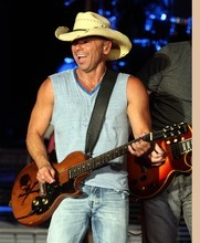 Rick Egan   |  The Salt Lake Tribune  Kenny Chesney performs at the USANA, Saturday, July 9, 2011