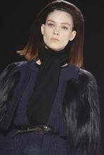 Fashion from the Fall 2012 collection of Carolina Herrera is modeled on Monday, Feb. 13, 2012 in New York. (AP Photo/Bebeto Matthews)