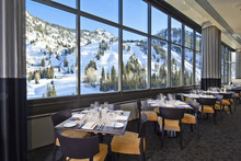 Courtesy Snowbird Ski Resort The recently remodeled Aerie restaurant will be serving special meals on Valentine's Day.
