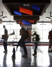 Francisco Kjolseth |The Salt Lake Tribune file photo Timpview High school students head to lunch. A new proposal by a Utah legislator would allocate funding for high school students to student accounts, rather than to schools.