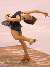 Tribune file photo Olympic gold medalist Sarah Hughes will be at EnergySolutions Arean Feb. 18 for