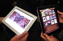 (AP Photo/Mark Lennihan) The author asserts that Apple products appeal to consumers for what they look like and what they can do. But they love Apple for what the brand represents, values of creativity, originality and innovation.