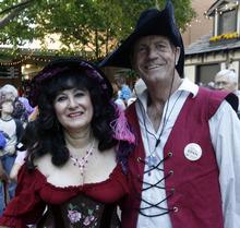 Rick Egan      The Salt Lake Tribune  Suzanne and Larry Fex, Las Vegas, on their way to