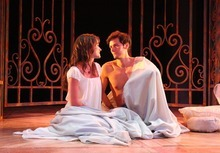 Rick Egan l The Salt Lake Tribune Magan Wiles as Juliet and Christian Barillas as Romeo, in Utah Shakespeare Festival's Romeo and Juliet,  Wednesday, June 8, 2011.