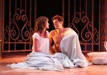 Rick Egan l The Salt Lake Tribune Magan Wiles as Juliet and Christian Barillas as Romeo, in Utah Shakespeare Festival's Romeo and Juliet,  Wednesday, June 8, 2011.