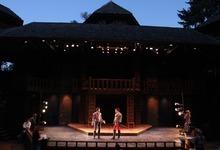 Rick Egan l The Salt Lake Tribune Christian Barillas as Romeo, and Ben Jacoby as Tybalt, in Utah Shakespeare Festival's Romeo and Juliet,  Wednesday, June 8, 2011.