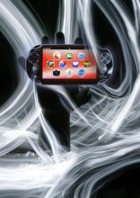 Francisco Kjolseth  |  The Salt Lake Tribune Photo illustration by Francisco Kjolseth For story on the new PlayStation Vita, the successor to the PlayStation Portable. It's the new portable video gaming device.