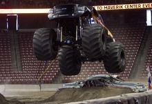 Kim Raff I The Salt Lake Tribune Monster Jam is coming to EnergySolutions Arena on Friday, Feb. 24, and Saturday, Feb. 25.