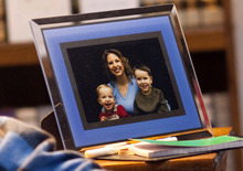 Chris Detrick  |  The Salt Lake Tribune A picture of Susan Powell and her two boys at her father's home in Puyallup, Washington Friday December 18, 2009.