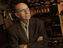 Tribune file photo Richard Wirick, 82, who owned the Oxford Shop Shoe Store, at 65 W. 100 South, since 1951, died Tuesday, Feb. 21, 2012, after being run over by a Utah Transit Authority bus.