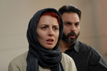 Courtesy photo Left to Right: Leila Hatami as Simin and Peyman Moadi as Nader in