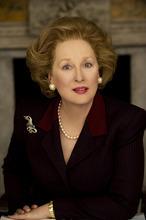 Meryl Streep as Margaret Thatcher in