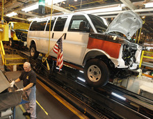 (AP Photo/Jeff Roberson, File) GM also will try to handle growth by stretching factories, said North American President Mark Reuss. But he thinks the company will have to hire more workers if sales this year reach 13.5 million or beyond.