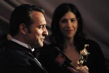 Jean Dujardin winner of best actor for this work in