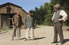 Courtesy photo Keegan-Michael Key, Jordan Peele and Stephen Root, for their Comedy Central show.