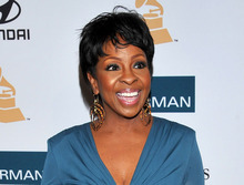 FILE - In this Feb. 11, 2012 file photo, Gladys Knight arrives at the Pre-GRAMMY Gala & Salute to Industry Icons with Clive Davis honoring Richard Branson in Beverly Hills, Calif.  Knight will be among the 12 celebrity contestants on the next season of the ABC dancing competition, premiering March 19. (AP Photo/Vince Bucci, file)