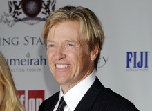FILE - In this Aug. 5, 2011 file photo, actor Jack Wagner arrives for the Shooting Stars Benefit in London.  Wagner will be among the 12 celebrity contestants on the next season of the ABC dancing competition, premiering March 19.  (AP Photo/Jonathan Short, file)