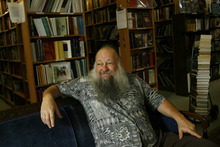 Ken Sanders, owner of a local rare books store, will lecture on illustrator R. Crumb and Edward Abbey march 4 at the University of Utah's J. Willard Marriott Library.    Chris Detrick/The Salt Lake Tribune