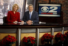 Trent Nelson  |  The Salt Lake Tribune Mark Koelbel and Shauna Lake are news anchors at 2News at KUTV Ch. 2 in Salt Lake City. The station is No. 1 in the ratings.